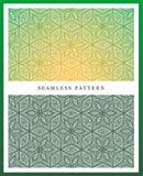 Origineel naadloos hoog patroon, - kwaliteit Ritmisch die patroon, op symmetrie wordt gebaseerd stock illustratie