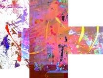 Origineel Olieverfschilderij royalty-vrije stock afbeelding