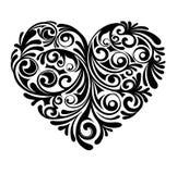 Origineel ontwerp van het hart Stock Afbeelding