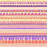 Origineel stammendoddle etnisch patroon stock illustratie