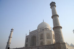 Origineel, Taj Mahal Seven Wonders Concept, India, royalty-vrije stock foto