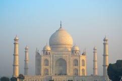 Origineel, Taj Mahal Seven Wonders Concept, India, stock foto