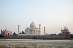 Origineel, Taj Mahal Seven Wonders Concept, India, royalty-vrije stock afbeelding