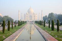 Origineel, Taj Mahal Seven Wonders Concept, India, royalty-vrije stock afbeeldingen