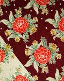 Origineel textielpatroon van dahlia's in een moderne stijl Schets uitstekende hand geschilderde gouache stock illustratie