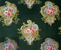Origineel textielstoffenornament van de Moderne stijl De slijpstof is met de hand geschilderd met gouache royalty-vrije stock afbeeldingen