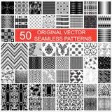 origineel vector naadloos patroon 50 Royalty-vrije Stock Foto