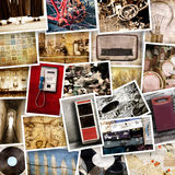Originele grote uitstekende objecten inzameling stock foto's