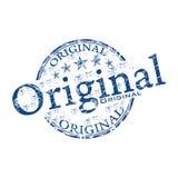 Originele grunge rubberzegel Stock Foto