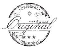 Originele grungezegel Stock Afbeeldingen