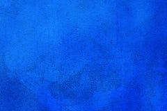 Originele heldere blauwe achtergrond Macrofotografiemuur Royalty-vrije Stock Afbeelding