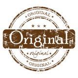 Originele rubberzegel Royalty-vrije Stock Fotografie