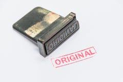 Originele zegel Royalty-vrije Stock Afbeeldingen