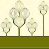 originella trees Arkivfoto
