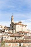 Orihuela Del Tremedal miasteczko, Teruel, Hiszpania Zdjęcie Stock