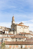 Orihuela del Tremedal town, Teruel, Spain Stock Photo