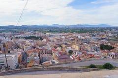 Orihuela, España - 10 février 2018 : Vue panoramique du CIT images stock