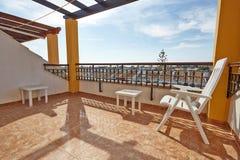Orihuela, Hiszpania Czerwiec 06, 2016: Mieszkania dla turystów blisko morza w Hiszpania Zdjęcie Royalty Free