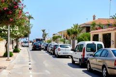 Street of Orihuela city Royalty Free Stock Photo