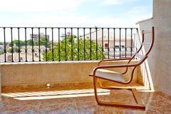 Orihuela Spanien Juni 06, 2016: Lägenheter för turister nära havet i Spanien Royaltyfri Bild
