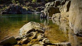 Orilla americana del río foto de archivo libre de regalías
