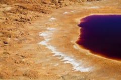 Orilla colorida del lago imagen de archivo libre de regalías