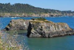 Orilla costera de la carretera 1 en CA Imagenes de archivo