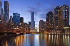 Orilla de Chicago fotografía de archivo libre de regalías