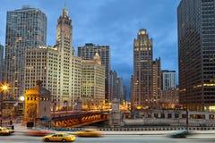 Orilla de Chicago foto de archivo