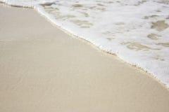 Orilla de la playa imagenes de archivo
