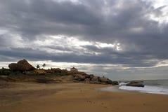 Orilla de mar Imagenes de archivo