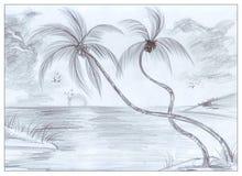 Orilla de mar Imágenes de archivo libres de regalías