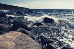 Orilla de mar Báltico Imagenes de archivo