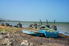 Orilla de mar Caspio Imagen de archivo