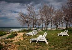 Orilla de mar Croacia fotos de archivo libres de regalías