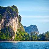 Orilla de mar de Andaman Imágenes de archivo libres de regalías