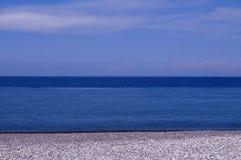 Orilla de mar de Batumi Foto de archivo libre de regalías