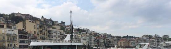 Orilla de mar de Estambul Fotos de archivo