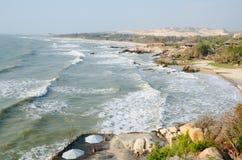 Orilla de mar en primavera en Vietnam Imagen de archivo libre de regalías