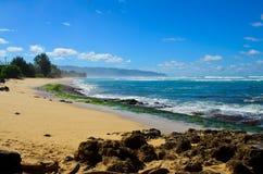 Orilla de Oahu Imagen de archivo libre de regalías