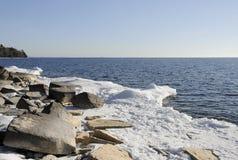 Orilla de Ontario de lago Imágenes de archivo libres de regalías