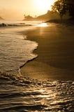 Orilla de oro en Hawaii Imagen de archivo libre de regalías
