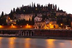 Orilla de Verona Fotos de archivo