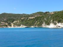 Orilla de Zakynthos Foto de archivo