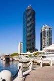 Orilla del agua de Brisbane Foto de archivo