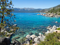 Orilla del este, el lago Tahoe Imágenes de archivo libres de regalías