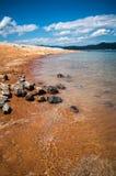 Orilla del jocassee del lago fotografía de archivo libre de regalías