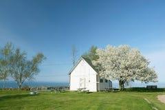 Orilla del lago Hurón, Michigan, los E.E.U.U. foto de archivo libre de regalías