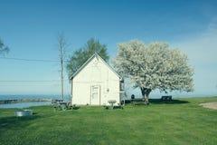 Orilla del lago Hurón, Michigan, los E.E.U.U. fotos de archivo libres de regalías