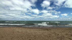 Orilla del lago Michigan metrajes